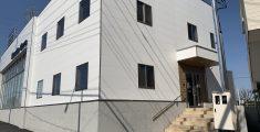 M事務所兼修理工場竣工